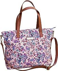 bf6ec78ab652 Dahlia Floral Tote Bag by White Elm