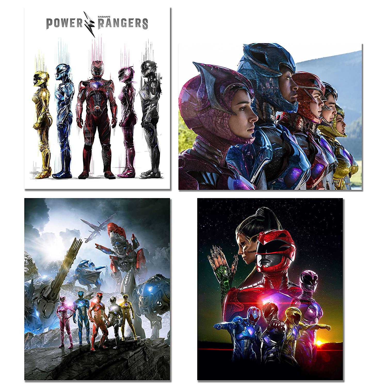 Power Rangers Movie Prints - Set of 4 8x10 Poster Photos