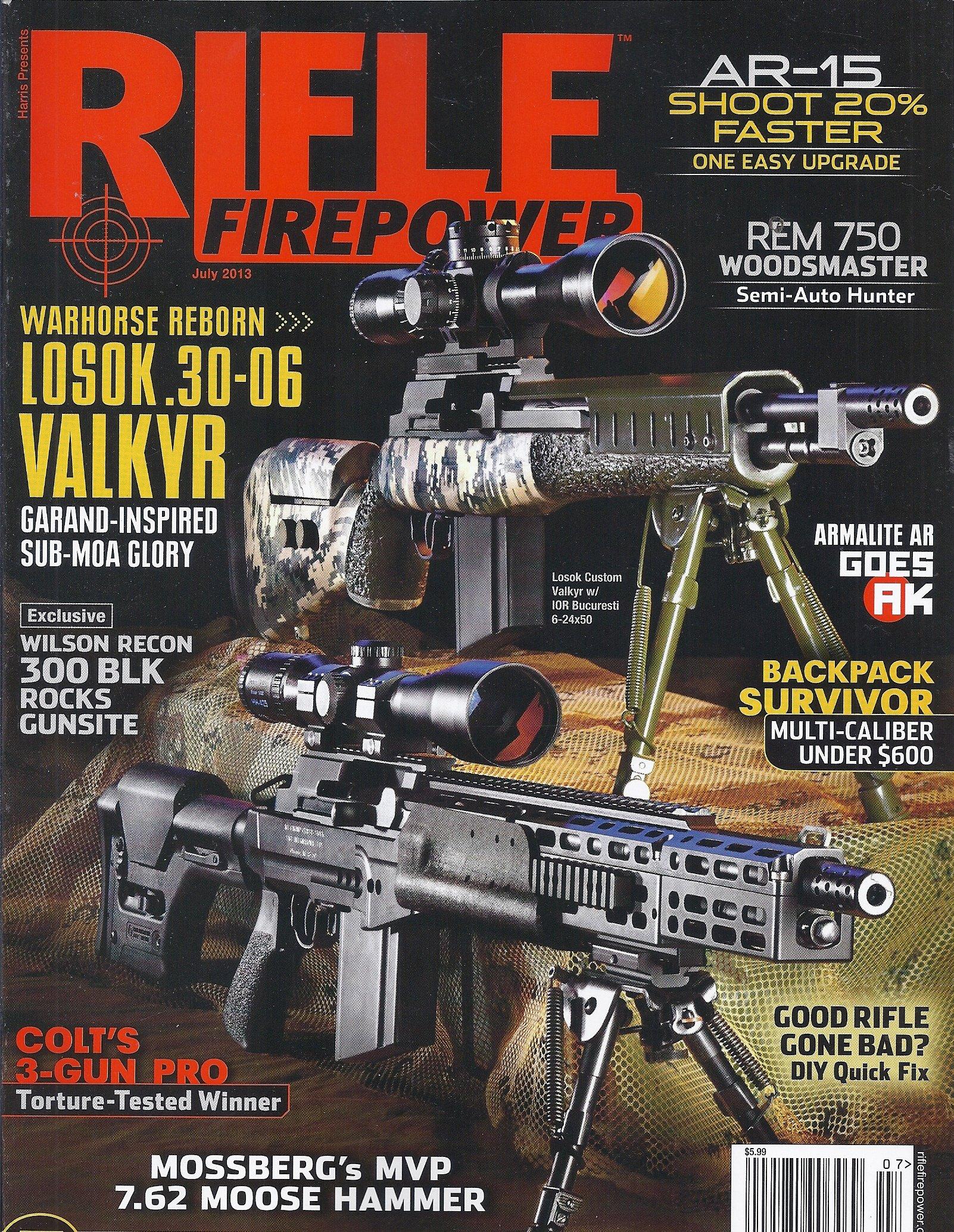 Read Online Rifle Firepower (July 2013,Harris Presents) pdf epub