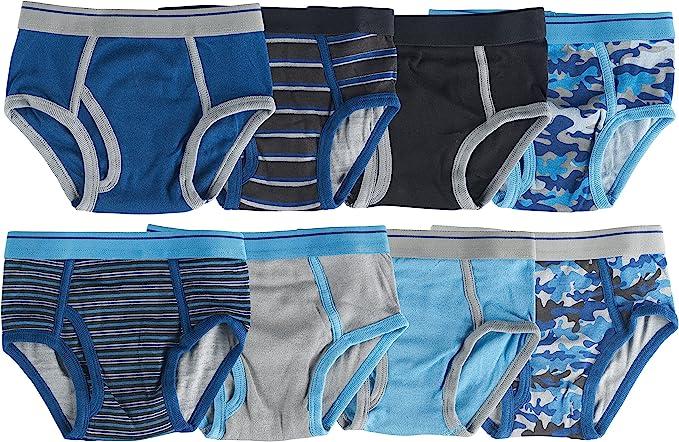 Boys Super Soft Colourful Cotton Briefs Pants Set 5-6 Years, Multi-Coloured Mix 7 Pair Multi Pack