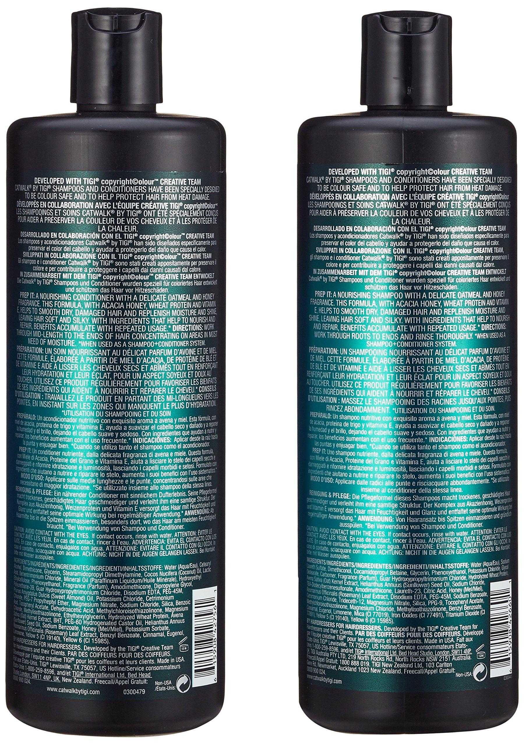 TIGI Catwalk Oatmeal & Honey Shampoo and Conditioner Tween Duo 2 x 750ml by TIGI