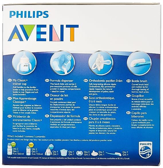 Philips AVENT SCD363/03 kit de iniciación a la alimentación para recién nacidos - Kits de iniciación a la alimentación para recién nacidos (2 pieza(s), ...