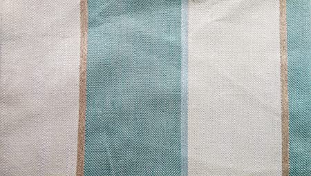 Laura Ashley Cedar Stripe Duck Egg Upholstery Fabric 1 6m X 1 38m