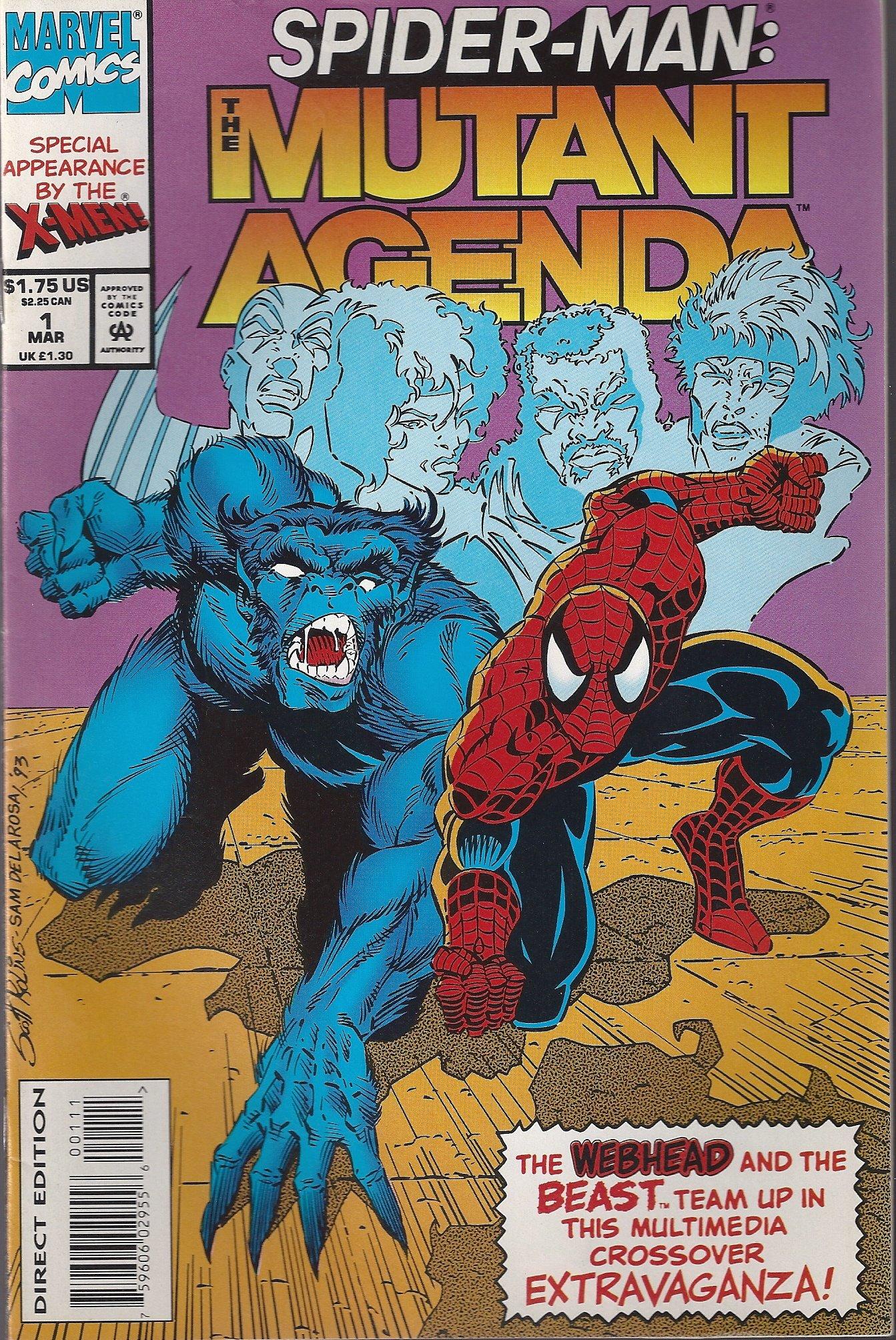 Marvel Comics Spider-Man the Mutant Agenda Vol.1 No.1 ...