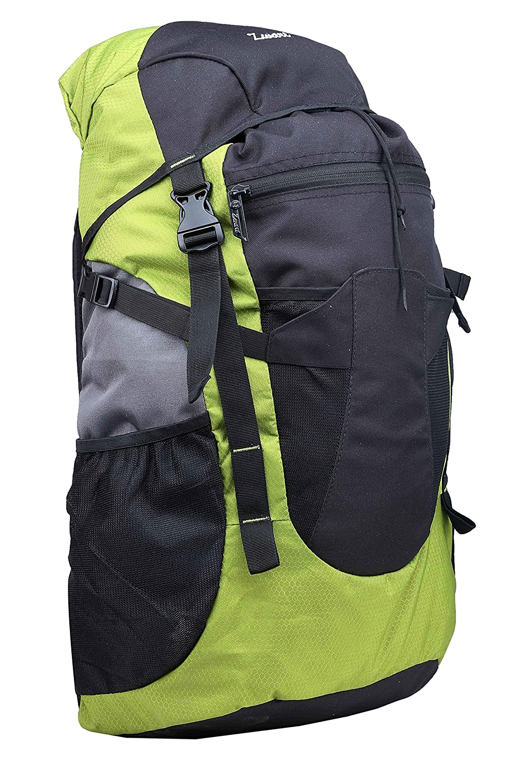 Zwart Black and Green 32 Ltrs Free Size Backpack / Rucksack
