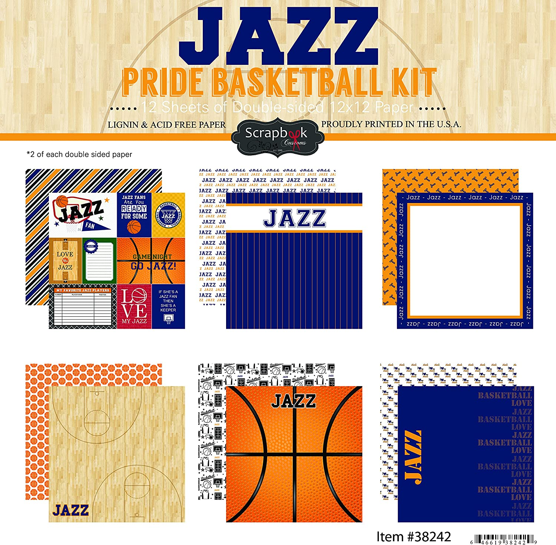 Scrapbook Customs Jazz Pride Scrapbook Kit