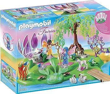 Playmobil - 5444 - Ile des Fées et Fontaine Pierre: Amazon ...