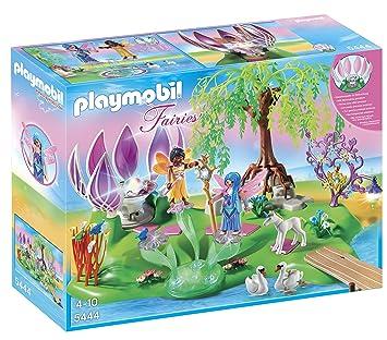Playmobil - 5444 - Ile des Fées et Fontaine Pierre: Amazon.fr: Jeux ...