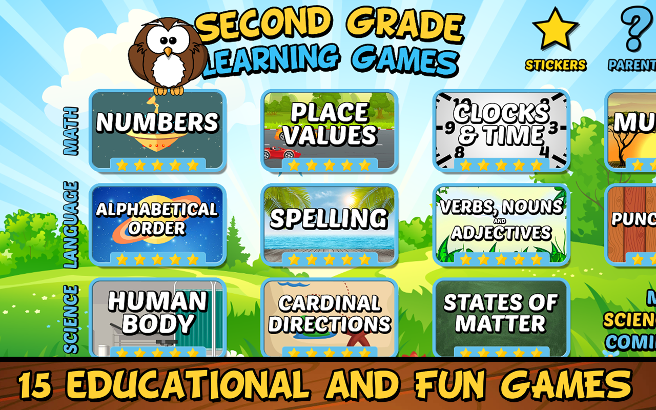 Amazon.com: Second Grade Learning Games Free: Appstore for Android