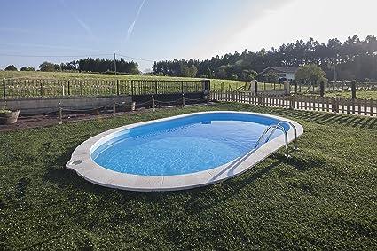 Vasca Da Bagno Interrata Prezzi : Piscina gre ovale interrata cm 800 x 400 x 120 h cm: amazon.it: casa