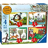 Ravensburger 7016 Stickman 4 in a box Jigsaw Puzzles - 12, 16, 20, 24 Pieces