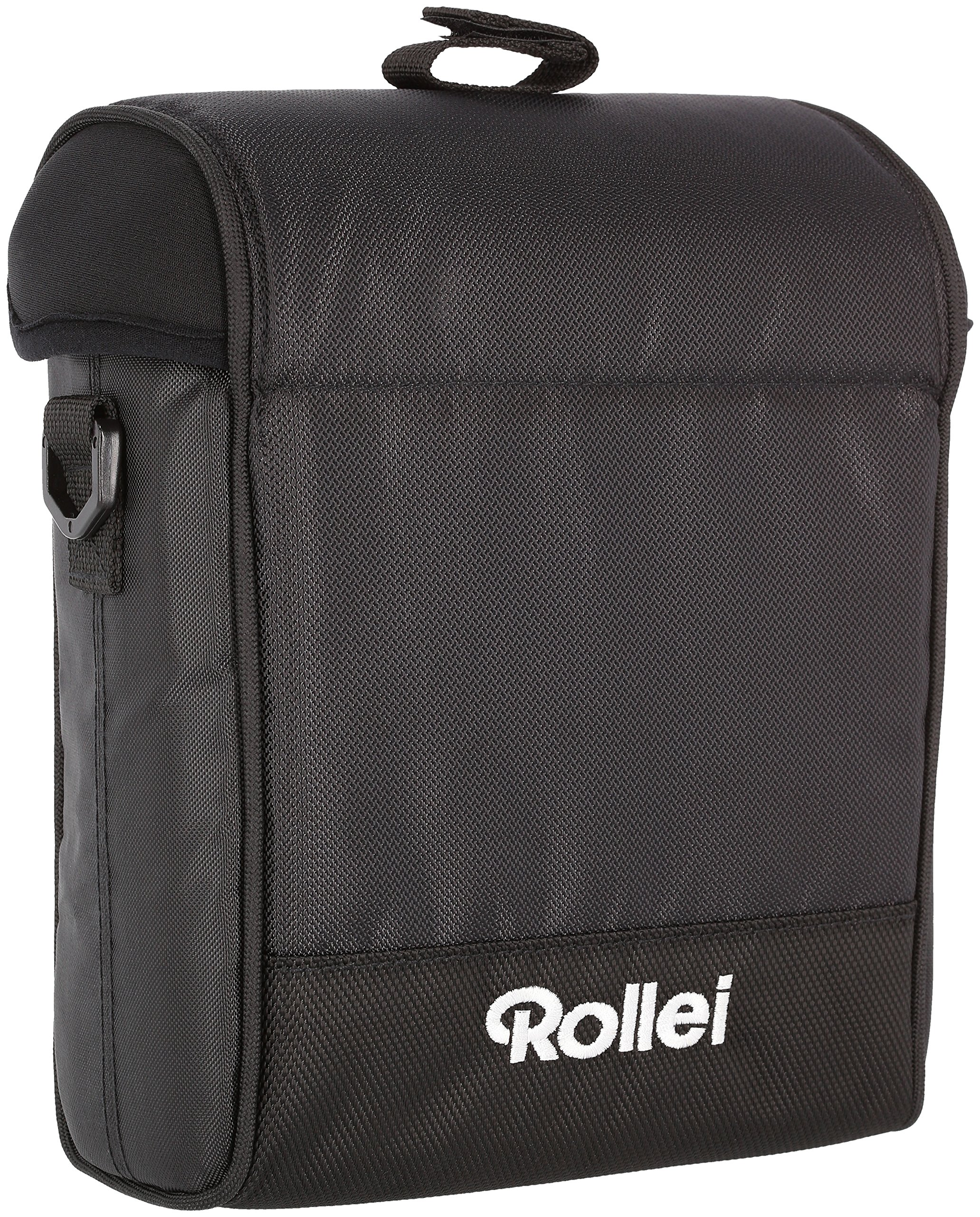 Rollei Square Filter Bag 150 mm - Padded Nylon Bag for Square Filters with a Width of 150 mm, incl. Shoulder Strap and Cleaning Cloth - Black by Rollei (Image #1)