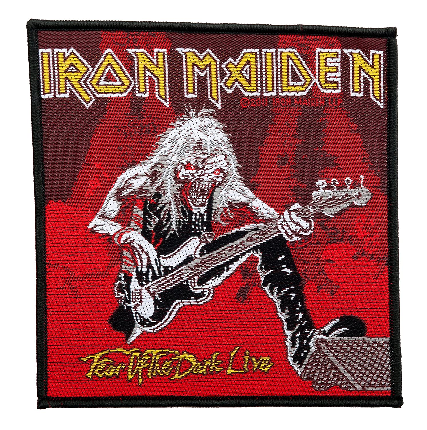 Patch//Aufn/äher, Gewebt Fear Of The Dark Live SP2531 Iron Maiden