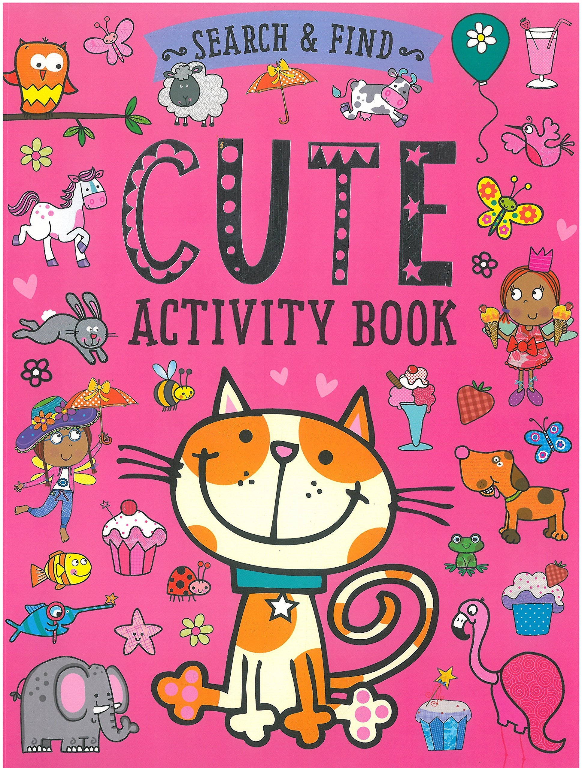 Read Online Cute Activity Book (Search & Find) PDF