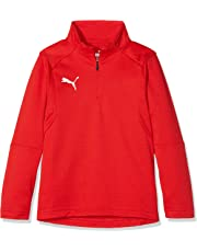 Puma Liga Training 1/4 Zip Top T-Shirt, Unisex niños