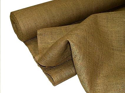3ddb6bdf0 Pandoras Upholstery - Tela de arpillera (10 m), color marrón: Amazon ...