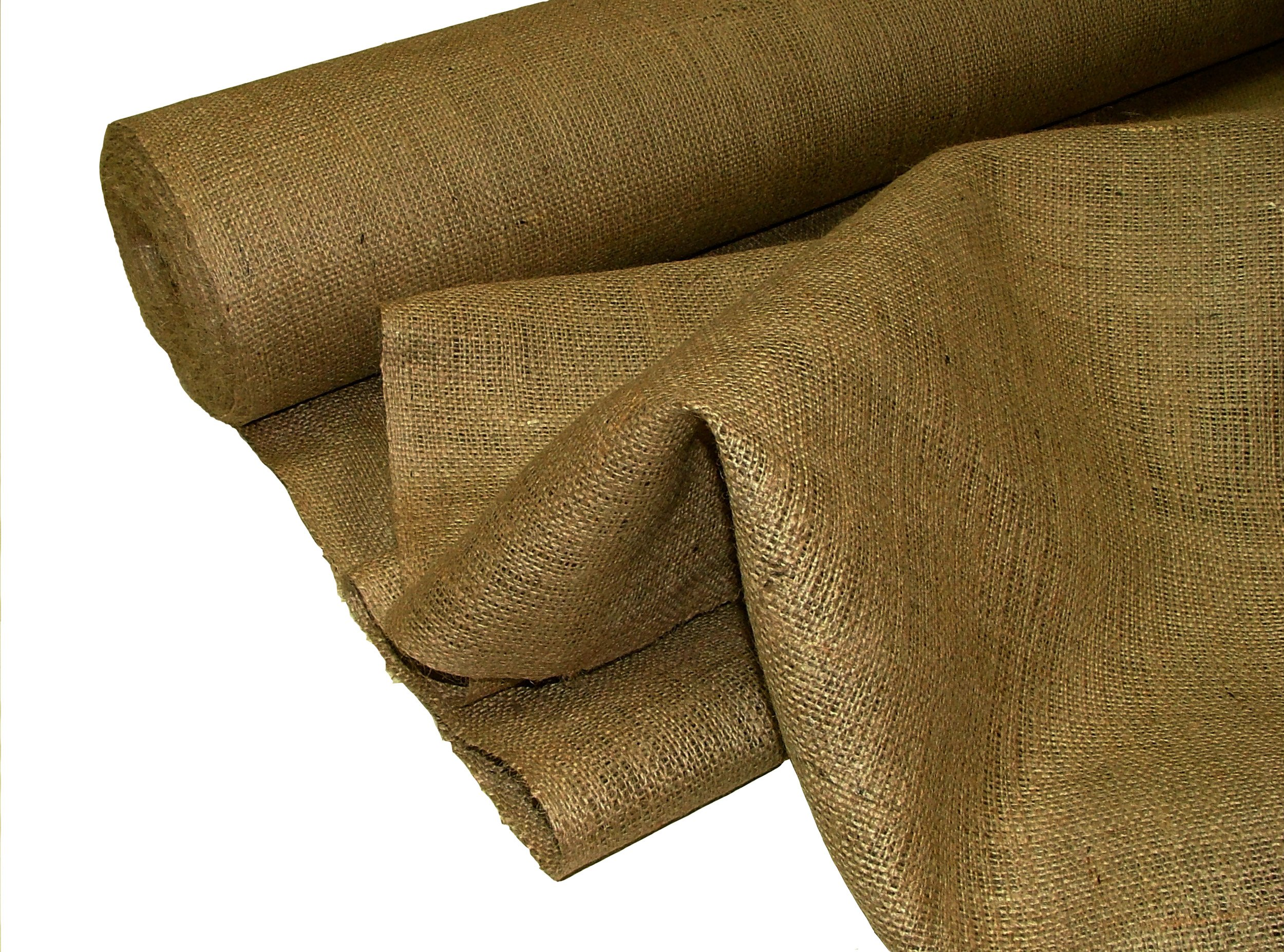 Pandoras Upholstery - Tela de arpillera (10 m), color marrón product image