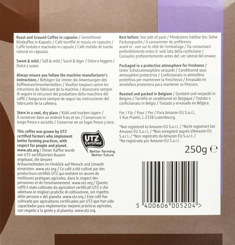 Marca Amazon - Solimo Cápsulas Lungo, compatibles con Nespresso ...
