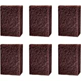 Cello Kleeno Heavy Duty Scrub Pad (Brown, Pack of 6)
