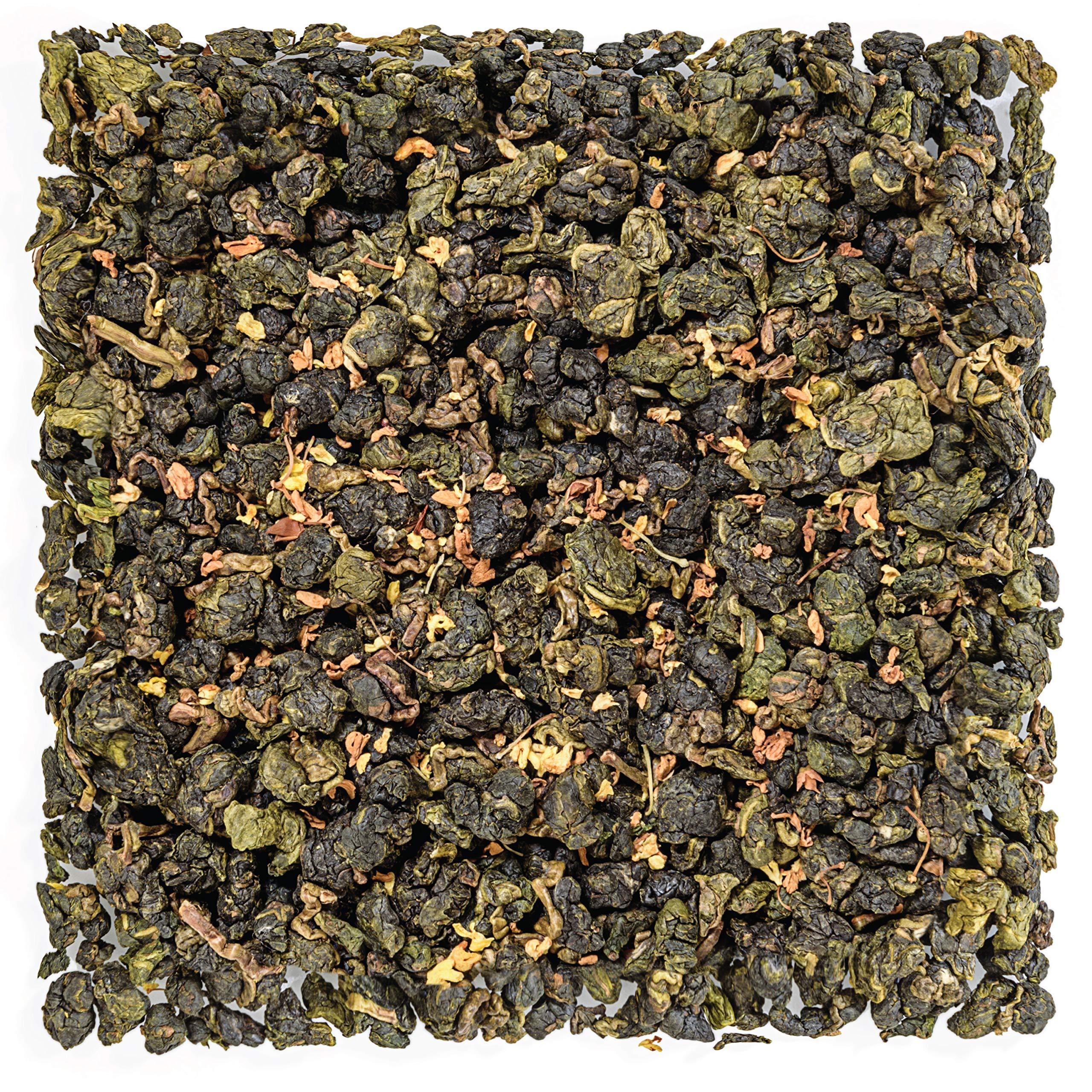 Tealyra - Osmanthus Gui Hua Oolong - Taiwanese Oolong Loose Leafe Tea - Sweet and Aromatic Taste - Organically Produced - 220g (8-ounce)