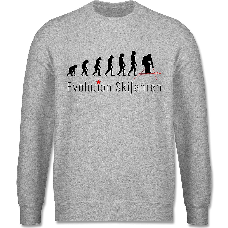 Evolution - Skifahren Evolution - schlichter Herren Pullover
