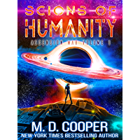 Scions of Humanity - A Metaphysical Space Opera Adventure (Aeon 14: The Ascension War Book 1) book cover