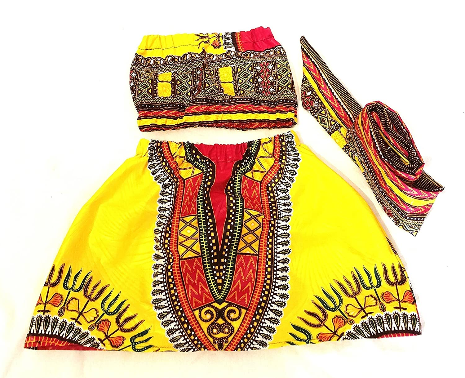 86f47db3e34e African skirt African babygirl clothes baby set  headwrap Newborn clothes  African clothing Ankara skirt Kente Fabric Girl skirt dashiki set african  clothing