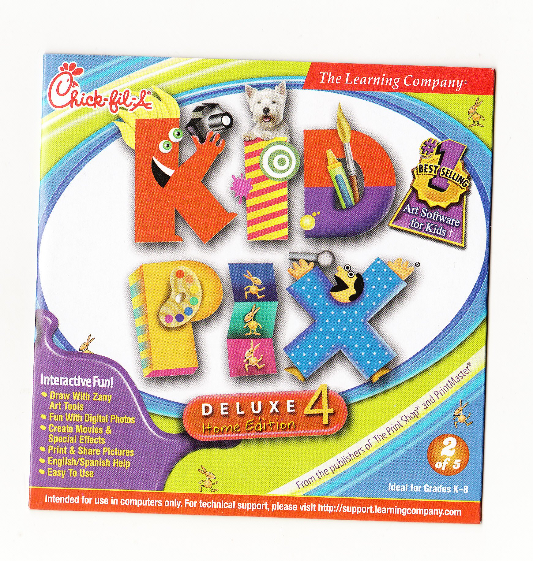 Download Kid Pix Deluxe 4 Home Edition pdf