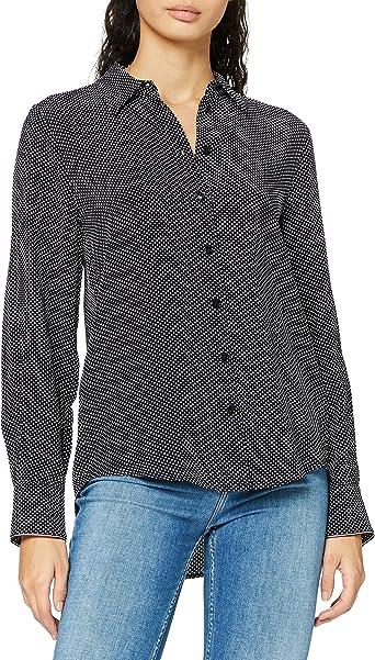 Tommy Hilfiger Valeska Relaxed LS Blouse Camisa para Mujer
