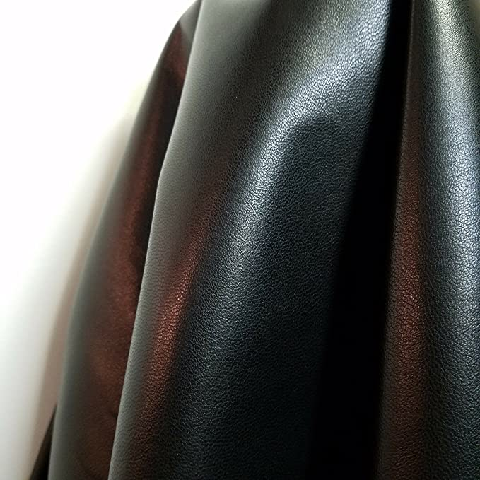 Italian Top Quality Lambskin Hide leather skin Floral Laser Cut Champagne 1.5 oz