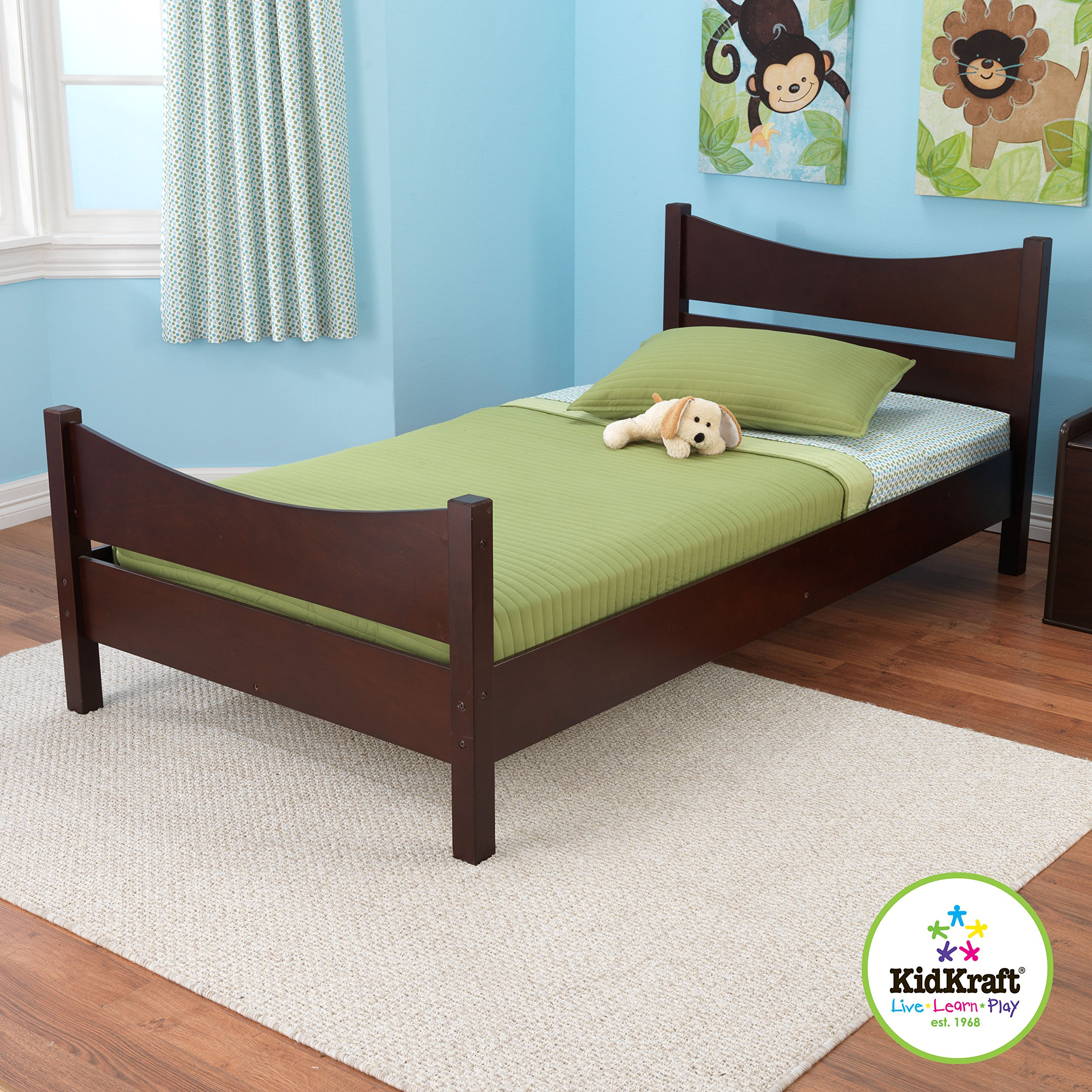 KidKraft Addison Twin Bed, Espresso by KidKraft (Image #2)