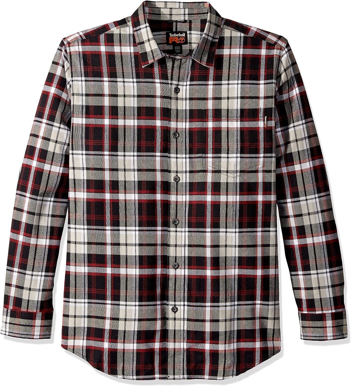 Timberland Pro Camisa Abotonada para Hombre: Amazon.es: Ropa y accesorios
