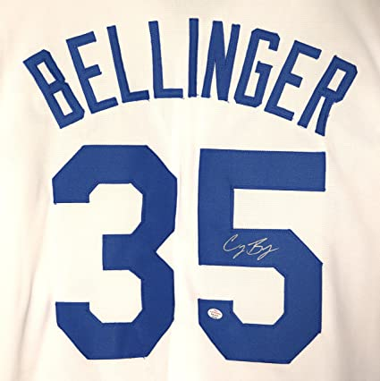 release date 6ac80 edd84 Cody Bellinger Los Angeles Dodgers Signed Autographed White ...