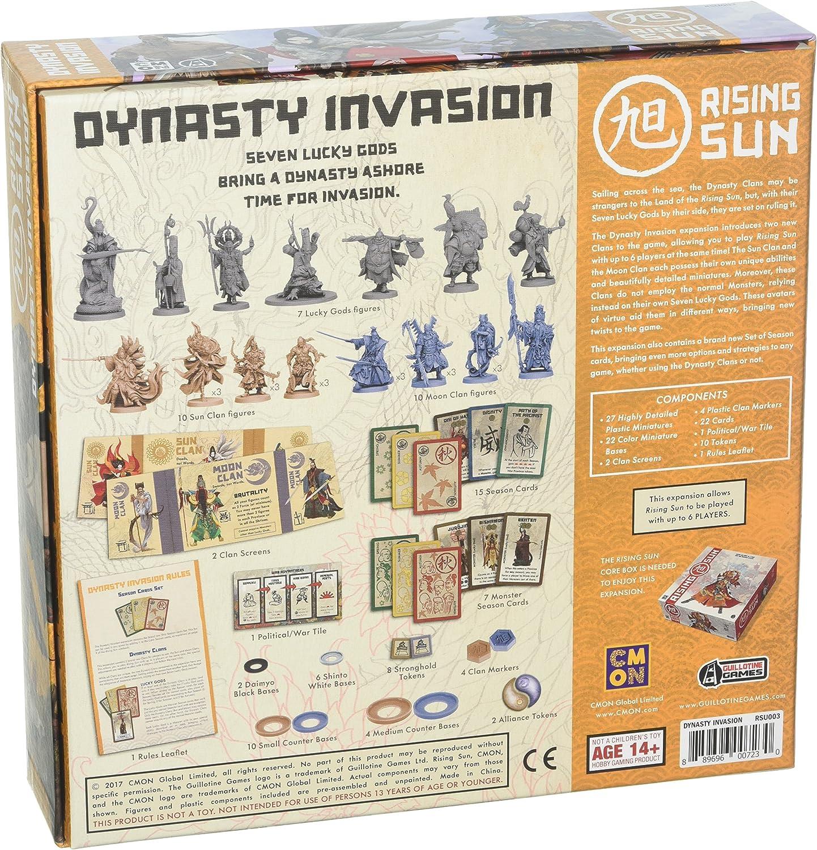 Rising Sun Dynasty Invasion Expansion - English: Amazon.es: Juguetes y juegos