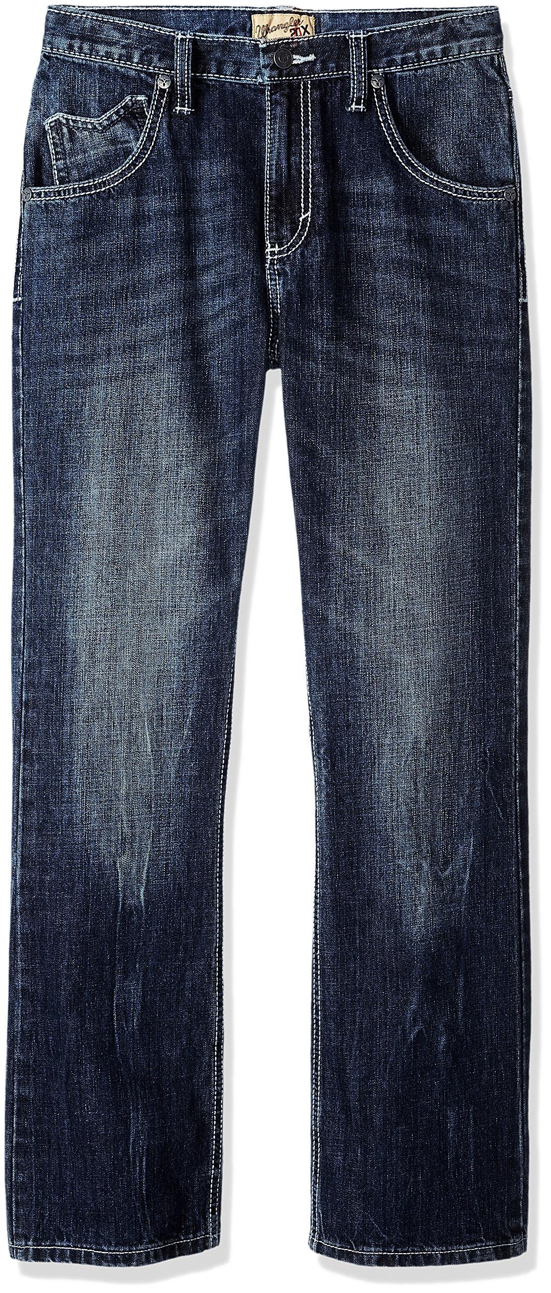 Wrangler Boys' 20X Vintage Boot Cut Jean, Canyon Lake, 6 Reg by Wrangler