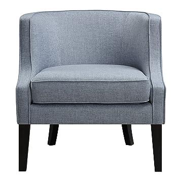 Pulaski Upholstered Arm Chair Brianne Tide, Medium, Blue