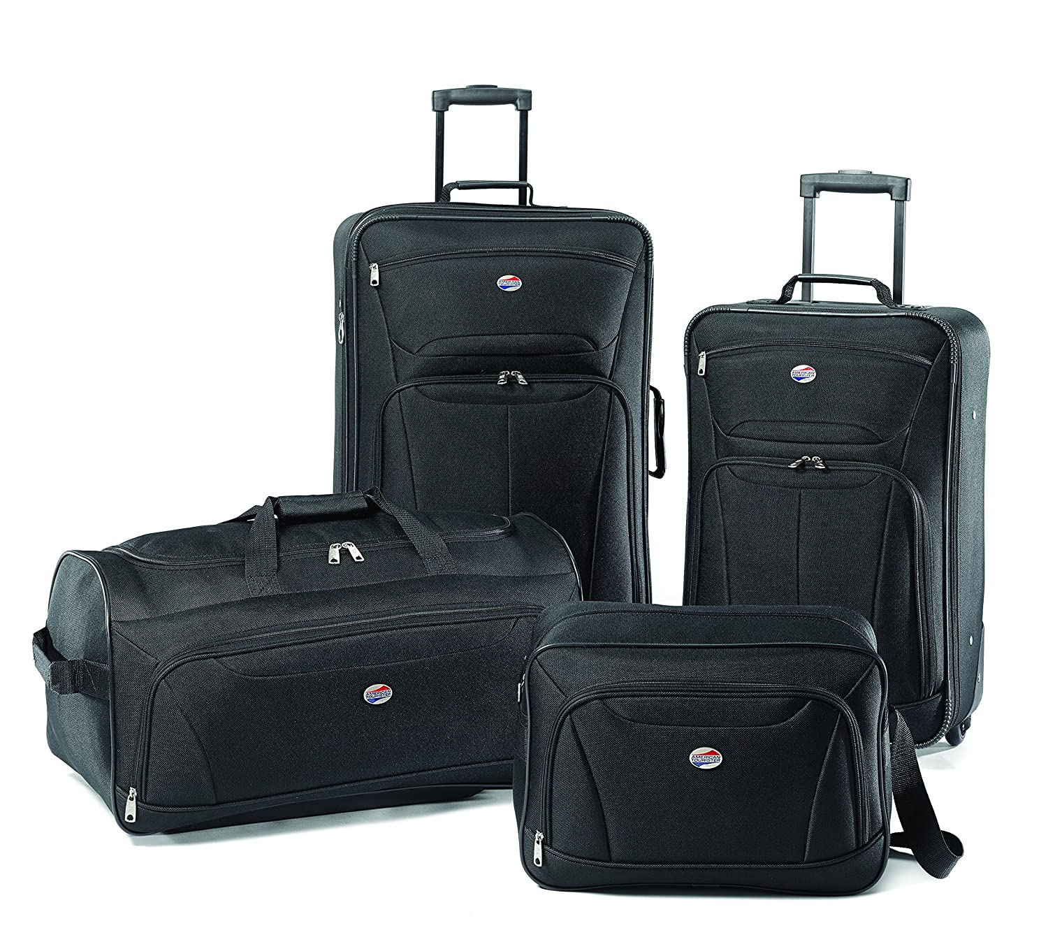 Amazon.com | American Tourister Luggage Fieldbrook II 4 Piece Set ...