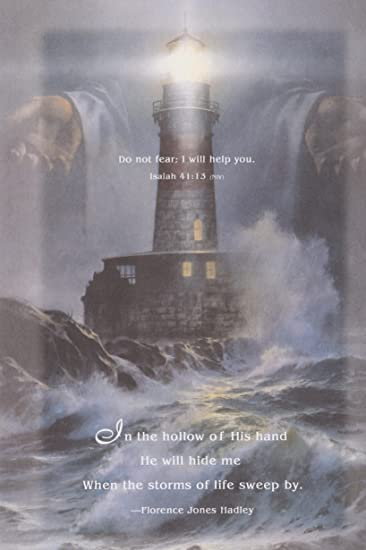 Lighthouse Church Poster - Mini Laminated Christian Poster - Religious &  Inspirational Posters