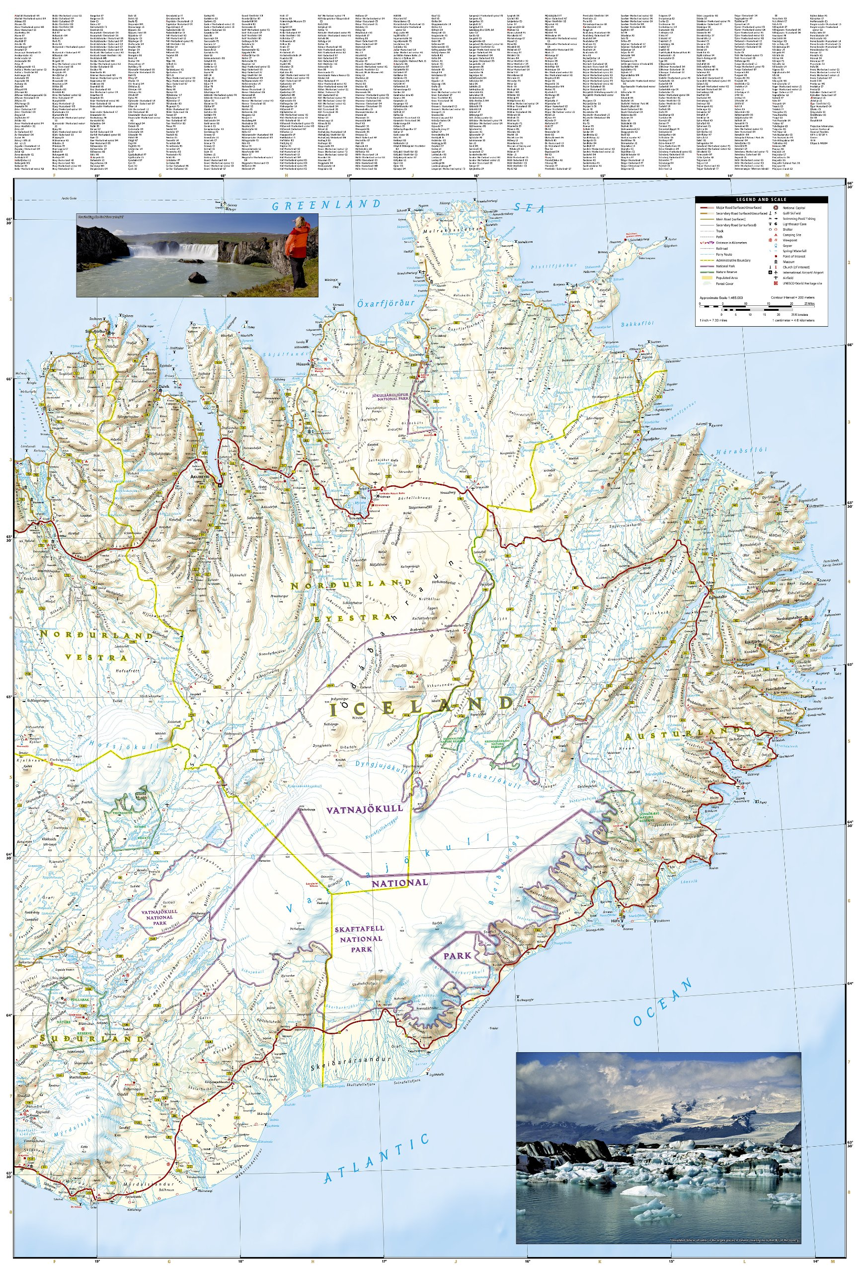 Iceland travel maps international adventure map amazon iceland travel maps international adventure map amazon national geographic maps libros en idiomas extranjeros gumiabroncs