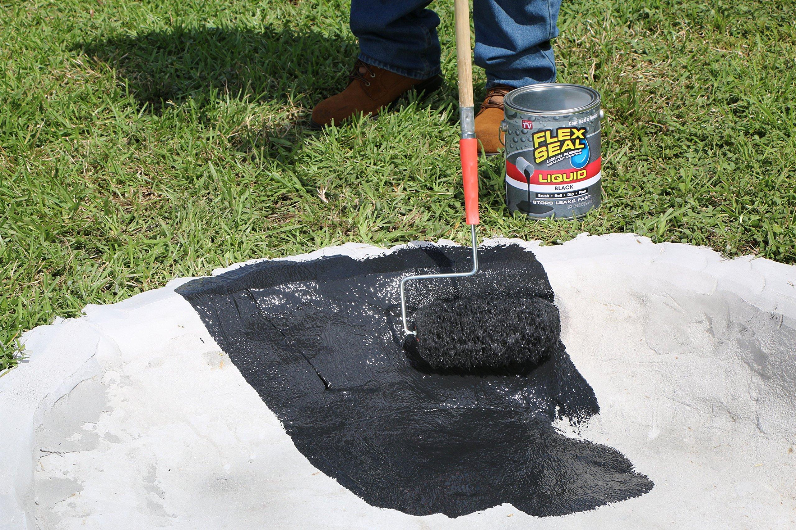 Flex Seal Liquid Rubber in a Can, 32-oz, Black by Flex Seal Liquid (Image #7)