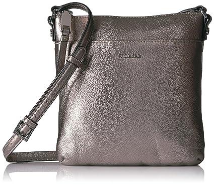 ccfbd23cb7f Calvin Klein Pebble Top Zip N/s Crossbody: Handbags: Amazon.com