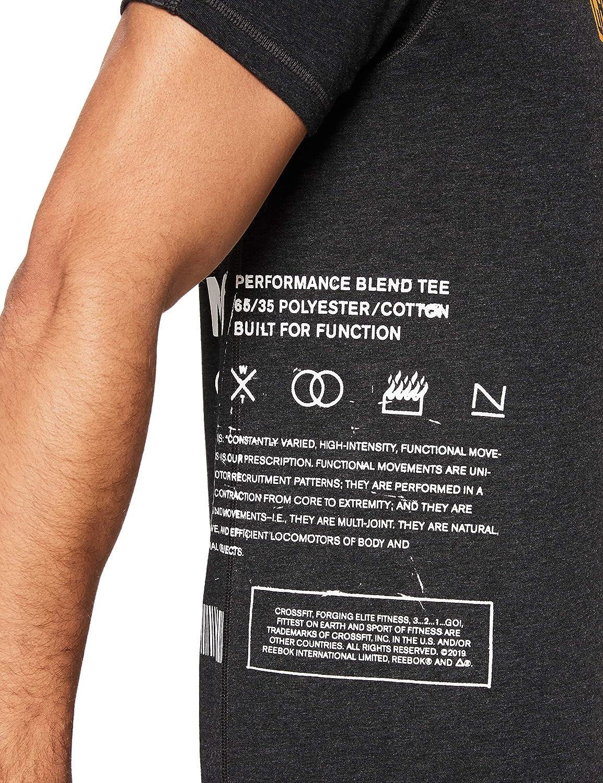 Move T Et Shirt Loisirs Tee Rc Reebok HommeSports gYybfv76