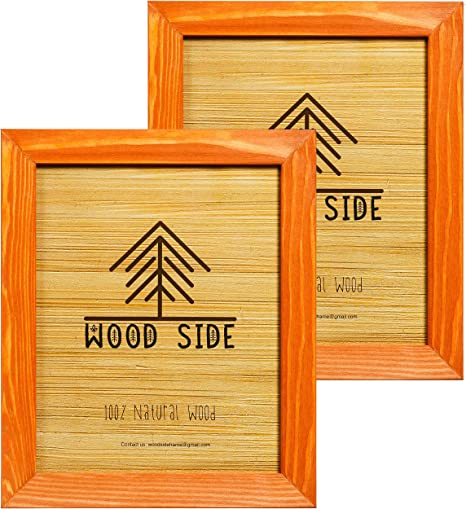 Laser Cut 4x6 Wooden Photo Frame for Crafts With no Glass