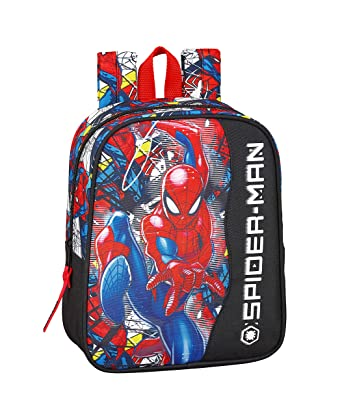 "Spiderman ""Super Hero"" Oficial Mochila Infantil 220x100x270mm"