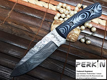 Amazon.com: sale- Handcrafted Damasco Cuchillo De Caza ...