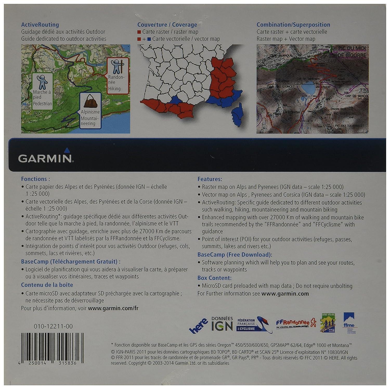 GARMIN POUR CARTE TÉLÉCHARGER GPS GRATUIT IGN