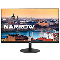 HKC 20A6 20 Zoll (50.80 cm) Full HD 1920x1080 Frameless LED Monitor, HDMI, VGA – Schwarz
