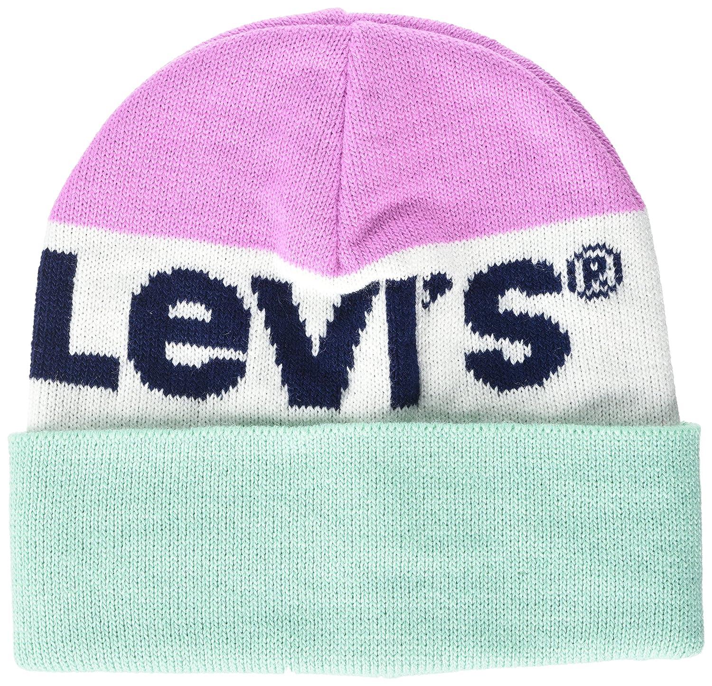 6a3009527575 Levi s Women s Sportswear Logo Beanie (Blue 18)
