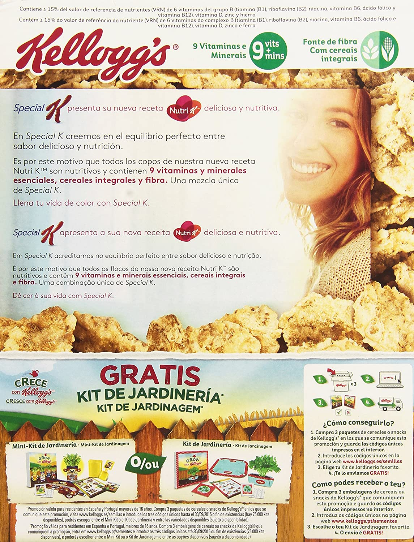 KelloggS - Special K - Cereales con chocolate negro - 375 g: Amazon.es: Alimentación y bebidas