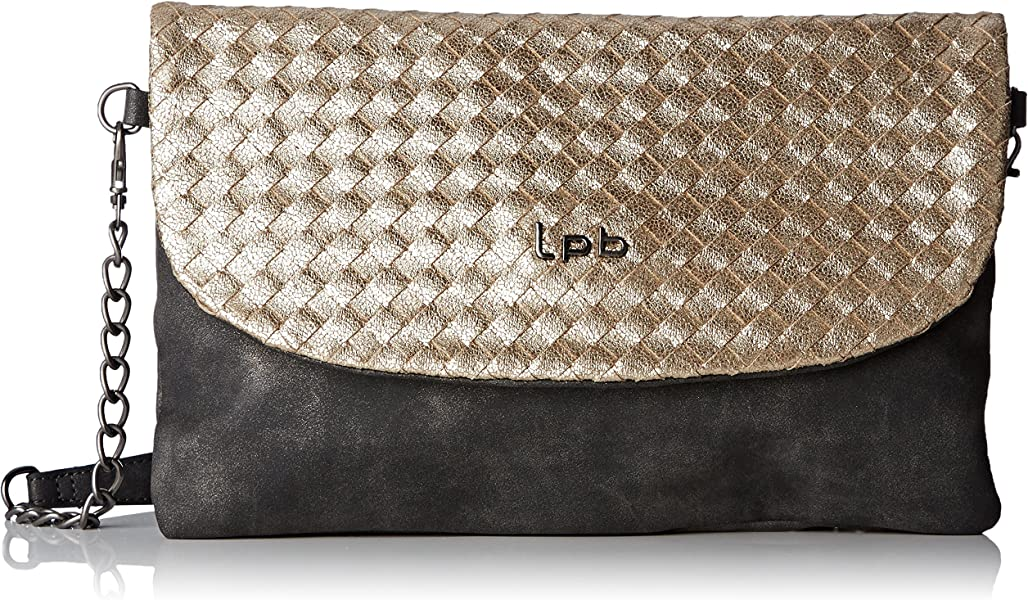 19ada152bd LPB Woman W16b1003, Sac bandoulière - Noir, Taille Unique: Amazon.fr ...